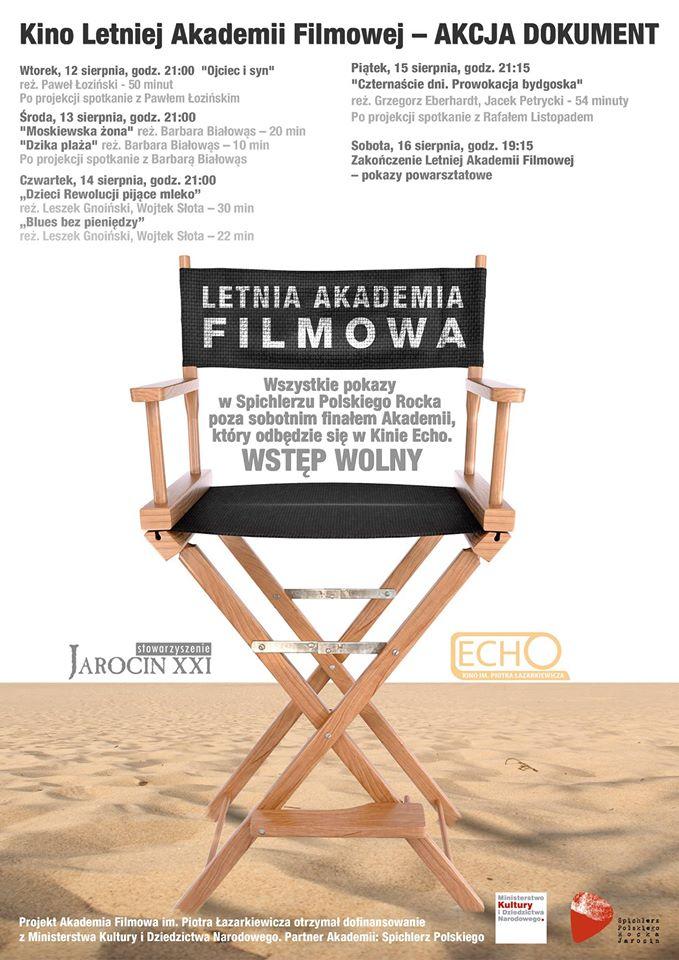 Letnia Akademia Filmowa w Spichlerzu