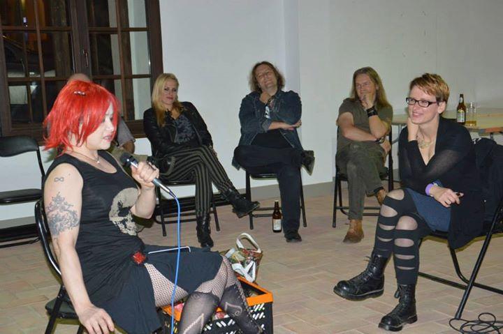Spotkanie z Anją Orthodox i zespołem Closterkeller