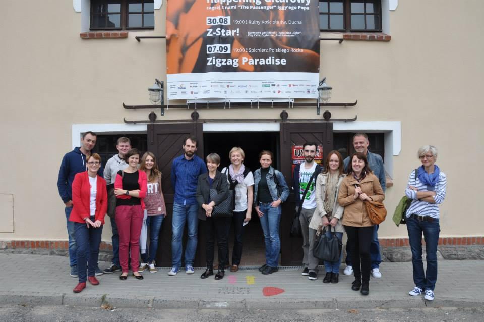 Delegacja z Muzeum Polskiej Piosenki w Opolu