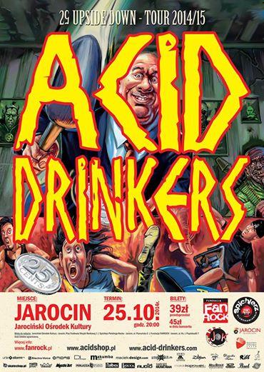 Acid Drinkers w JOK-u 25.10.2014