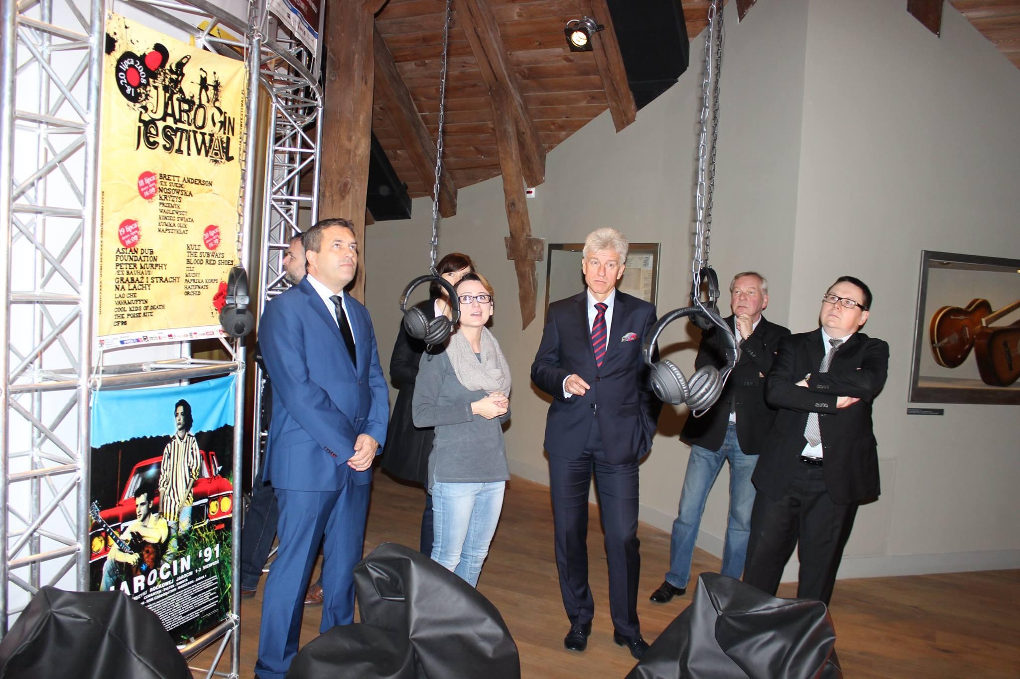 Wizyta prezydenta Poznania Ryszarda Grobelnego