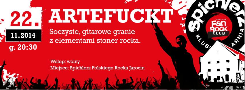 Koncert ARTEFUCTK!