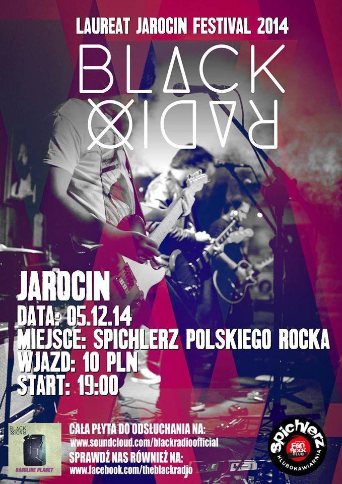 Black Radio w Spichlerzu Polskiego Rocka!
