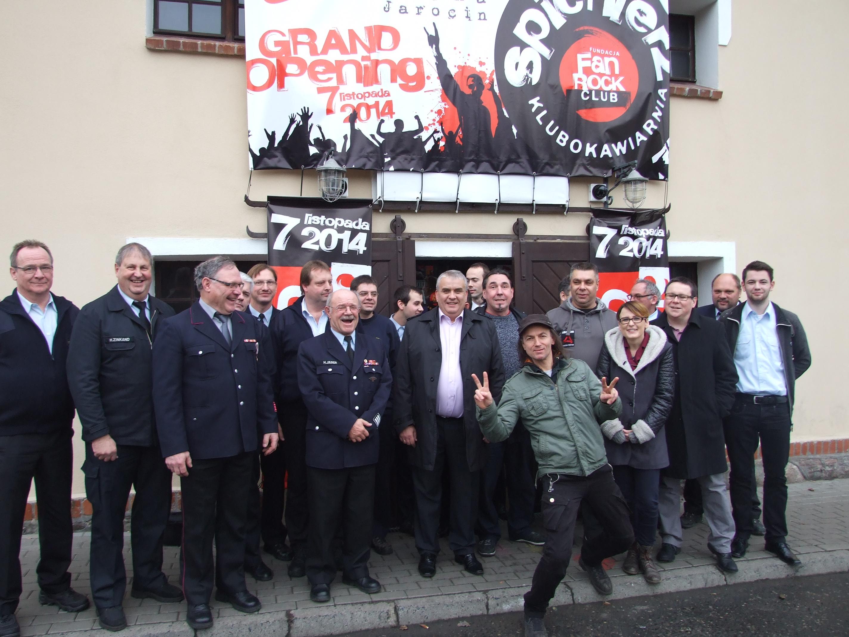 Niemiecka delegacja w Spichlerzu Polskiego Rocka!