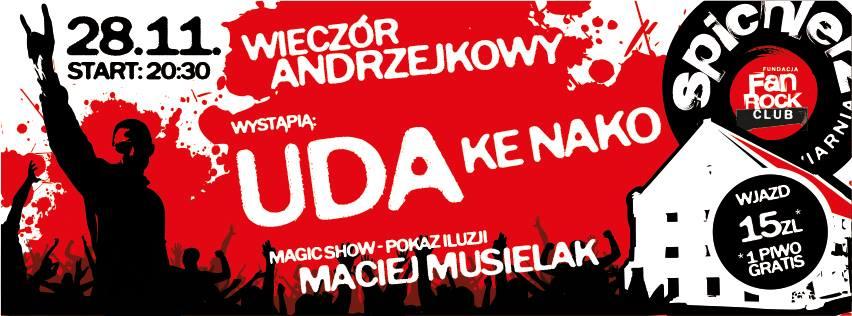 Andrzejki z Udami i Ke Nako!