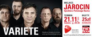 Muzyczna legenda Jarocina – spotkanie i koncert Variété.