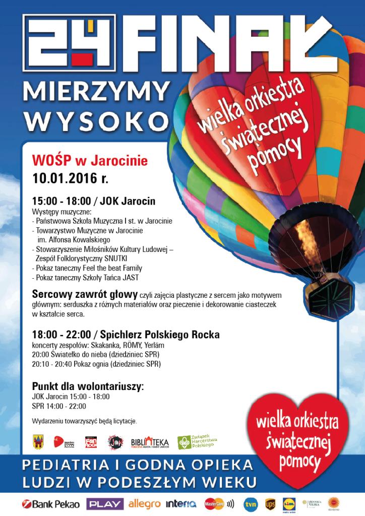 WOŚP 2016 – Jarocin!
