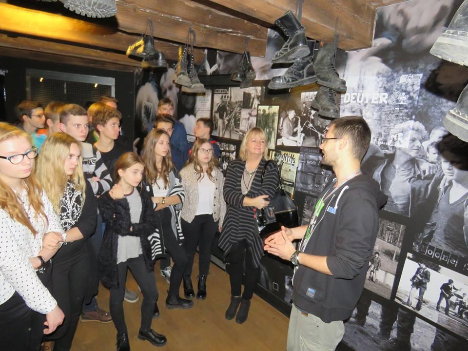 Gimnazjaliści z Jarocina zwiedzili muzeum