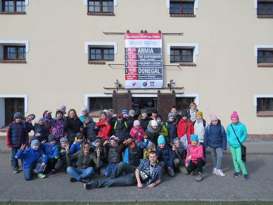 Uczniowie SP z Krotoszyna zwiedzili SPR