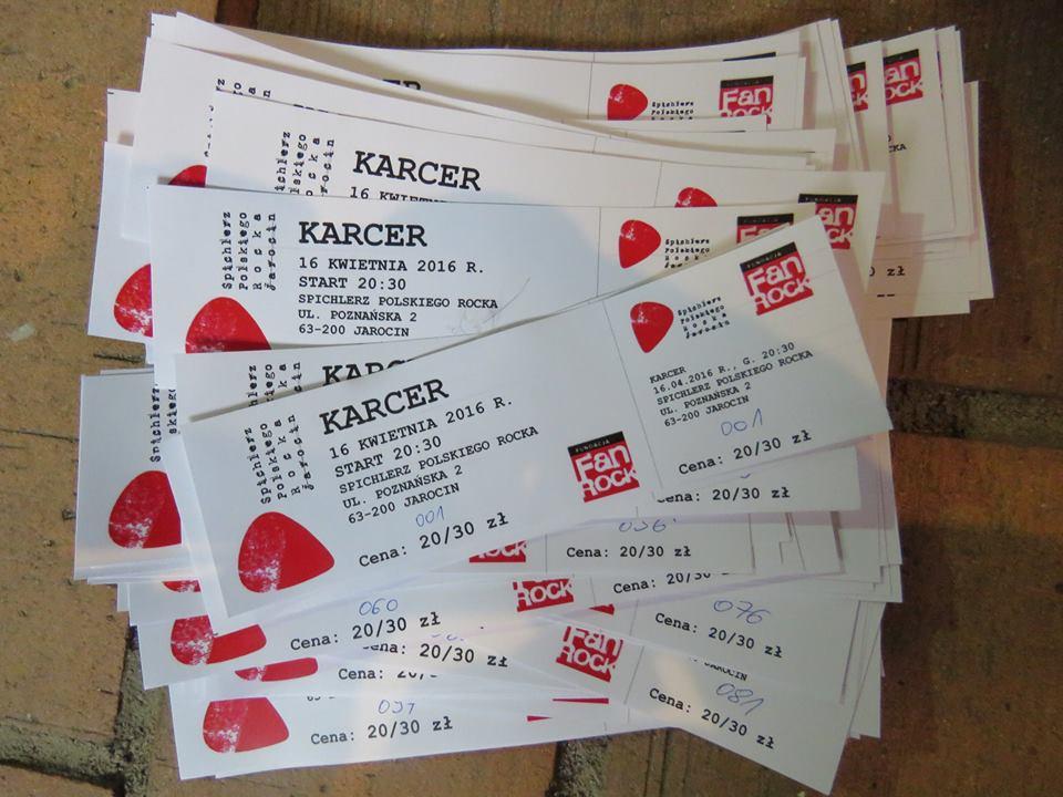 Mamy bilety na Karcer!