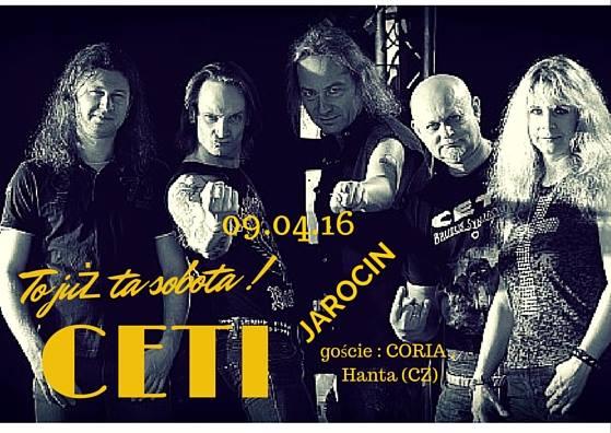 CETI, CORIA, HANTA – już w sobotę 09.04.2016 r.!