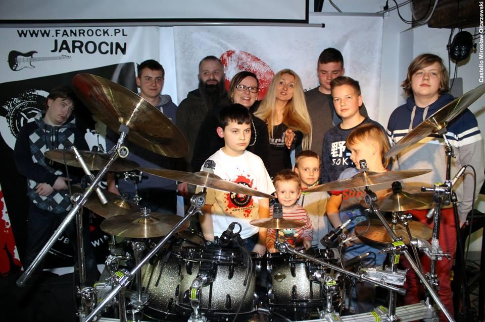 Warsztaty perkusyjne z p. Beatą Polak – fotorelacja
