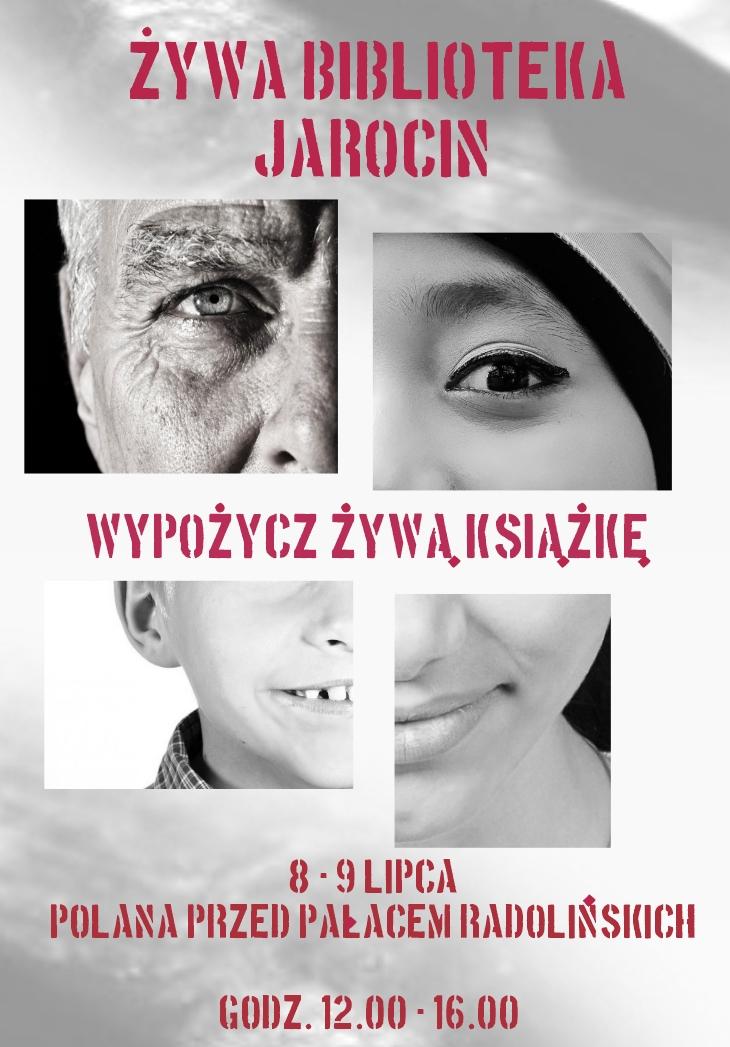 Żywa Biblioteka - plakat