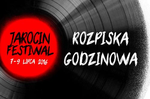 Znamy harmonogram Jarocin Festiwal 2016!