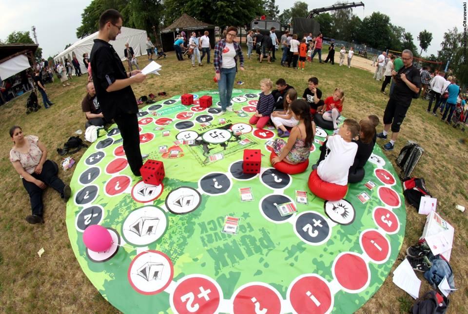 Premiera gry przestrzennej podczas Dnia Dziecka w Jarocinie :)