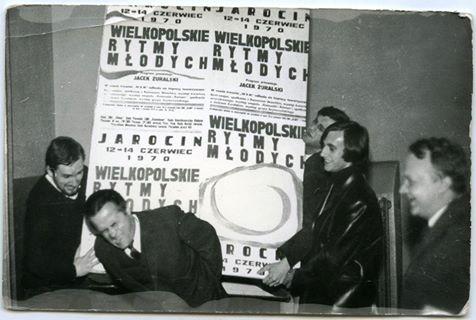 46 lat temu, 12 czerwca 1970 r. rozpoczęły się I Wielkopolskie Rytmy Młodych…