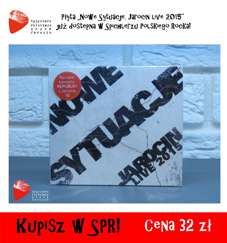 """Dziś premiera płyty """"Nowe Sytuacje. Jarocin live 2015"""" :)"""