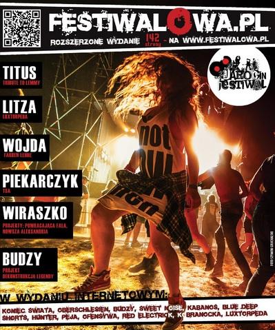 Festiwalowa.pl – wydanie gazety internetowej