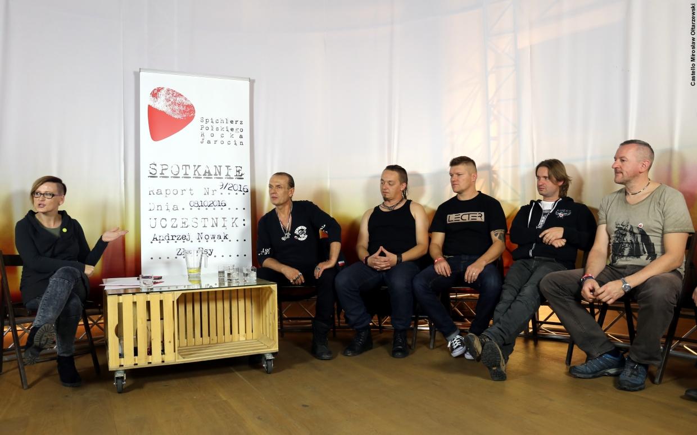 Fotorelacja ze spotkania i koncertu – Andrzej Nowak i Złe Psy