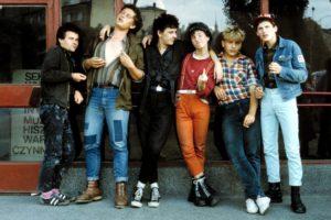 Załoga punkowa w klubie Remont, Warszawa 1984