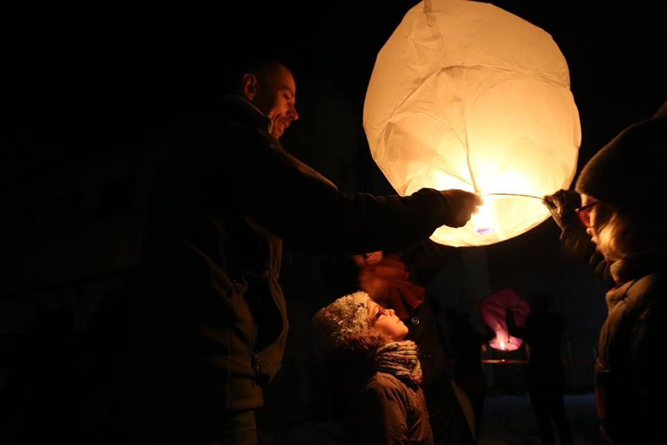 WOŚP 2017 – światełko do nieba, lampiony, taniec ognia (fotorelacja)