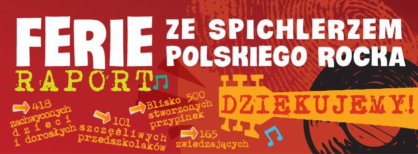 Ferie w Spichlerzu Polskiego Rocka – raport!