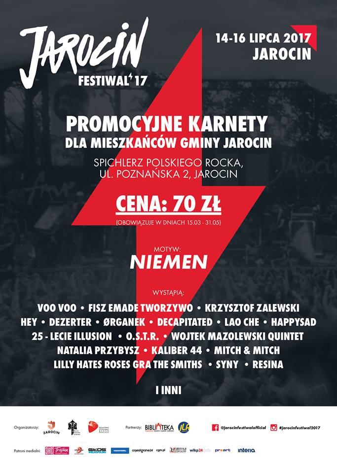 Tańsze karnety dla gminy Jarocin do 31 maja!