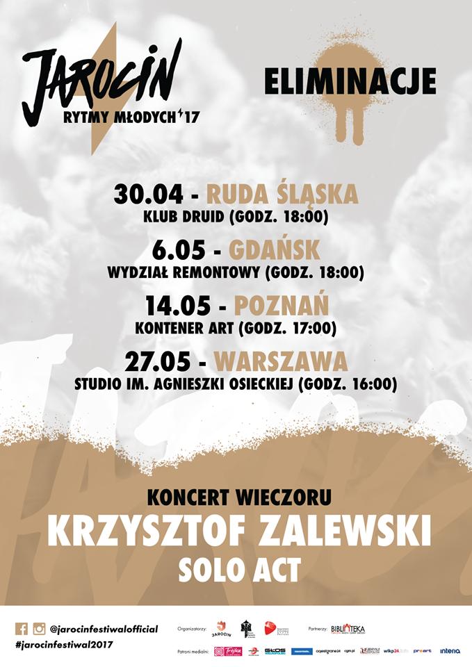 Jarocińskie Rytmy Młodych – rusza kolejny etap!