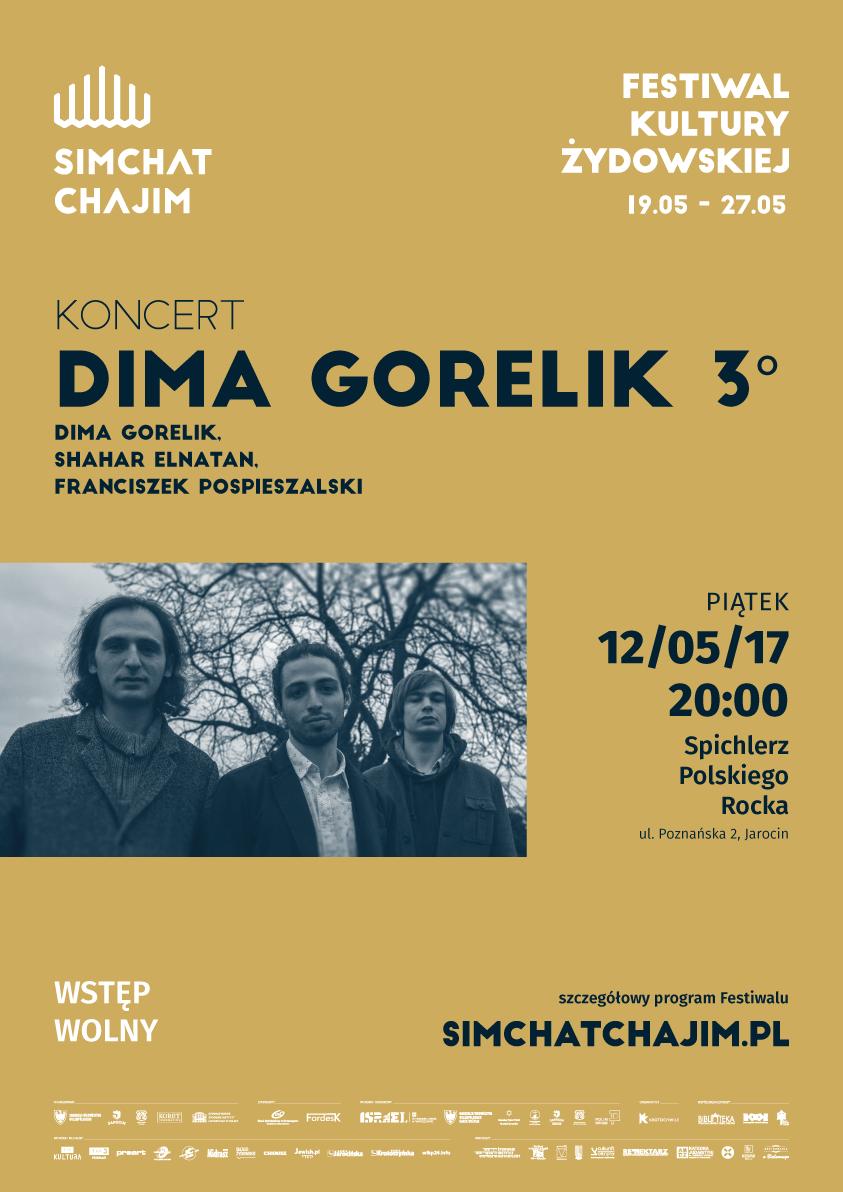 12.05.2017 – koncertowa rozgrzewka w SPR przed Simchat Chajim Festival!