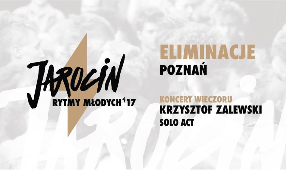 Zapraszamy na Jarocińskie Rytmy Młodych w Poznaniu – 14.05.2017!