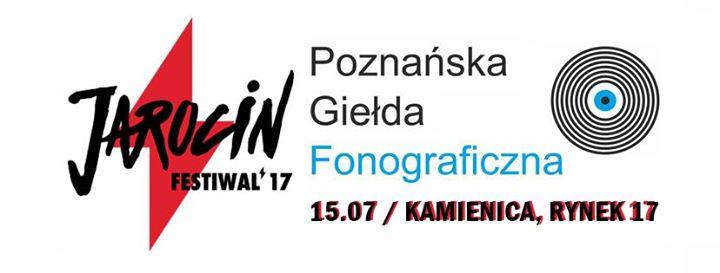 Zapraszamy na Poznańską Giełdę Fonograficzną w Jarocinie podczas Festiwalu!