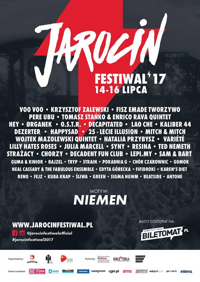 Pełny line-up tegorocznego Festiwalu w Jarocinie!