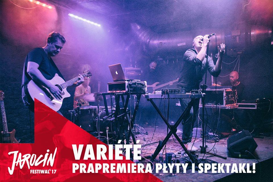 Variété wystąpi na Festiwalu w Jarocinie 2017!
