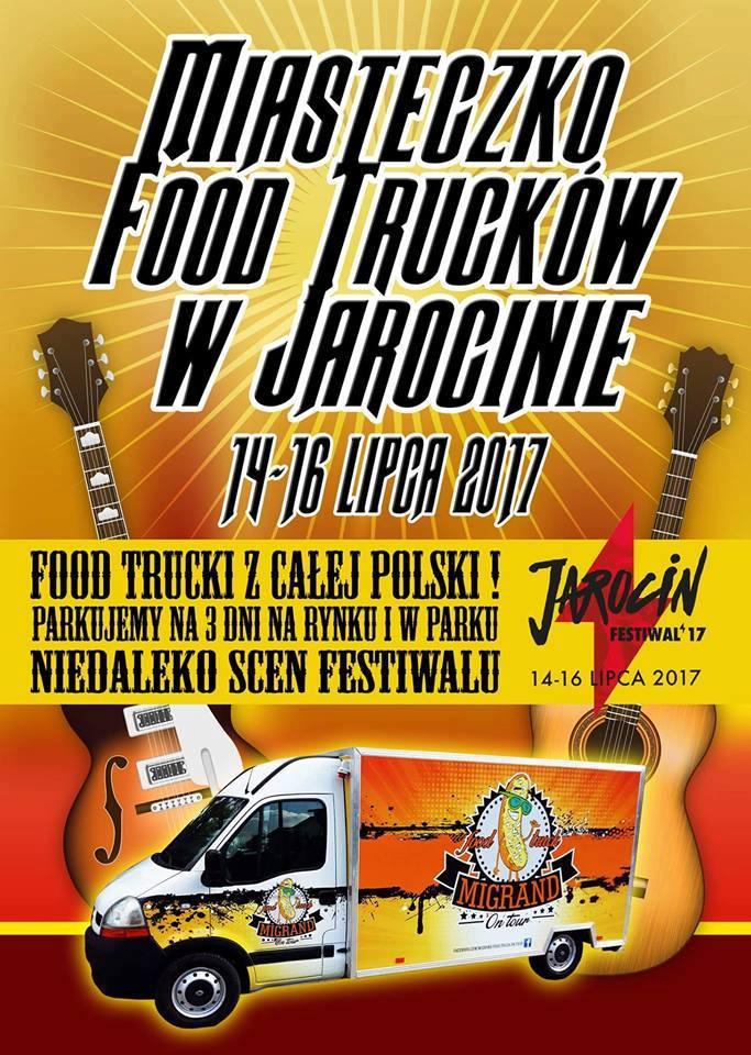 Pierwszy zlot Food Trucków podczas Jarocin Festiwal'17