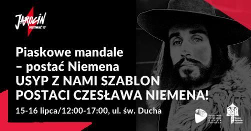 Piaskowe mandale – postać Niemena. Jarocin Festiwal'17.