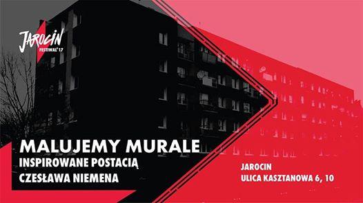 Malujemy Murale! Jarocin Festiwal 2017
