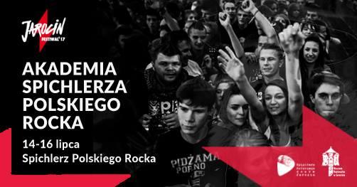 Akademia Spichlerza Polskiego Rocka podczas Jarocin Festiwal'17.