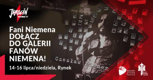Fani Niemena. Dołącz do galerii fanów Czesława Niemena! Jarocin Festiwal'17.