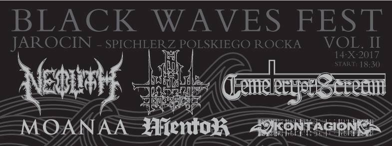 Przypominamy – Black Waves Festival vol. 2 w SPR już 14.10.2017 r.!