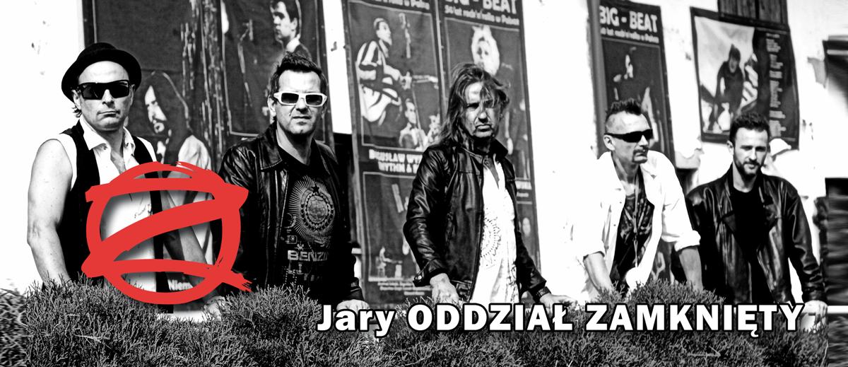 Jary Oddział Zamknięty – zapraszamy na koncert!