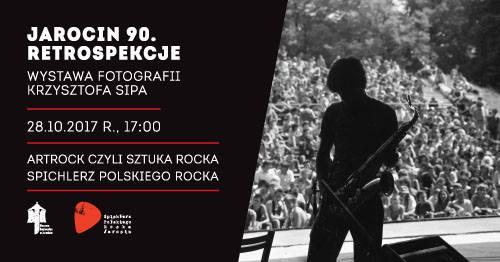 """""""Jarocin 90. Retrospekcje"""" – wernisaż wystawy fotografii Krzysztofa Sipa."""