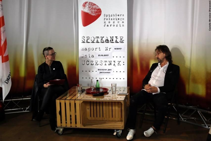 Fotorelacja ze spotkania z Krzysztofem Jarym Jaryczewskim