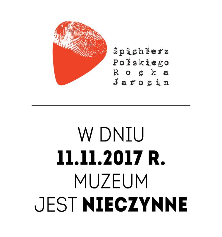 11 listopada muzeum nieczynne