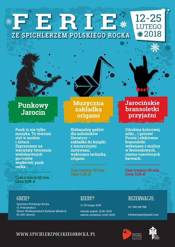 Ferie w Spichlerzu Polskiego Rocka!