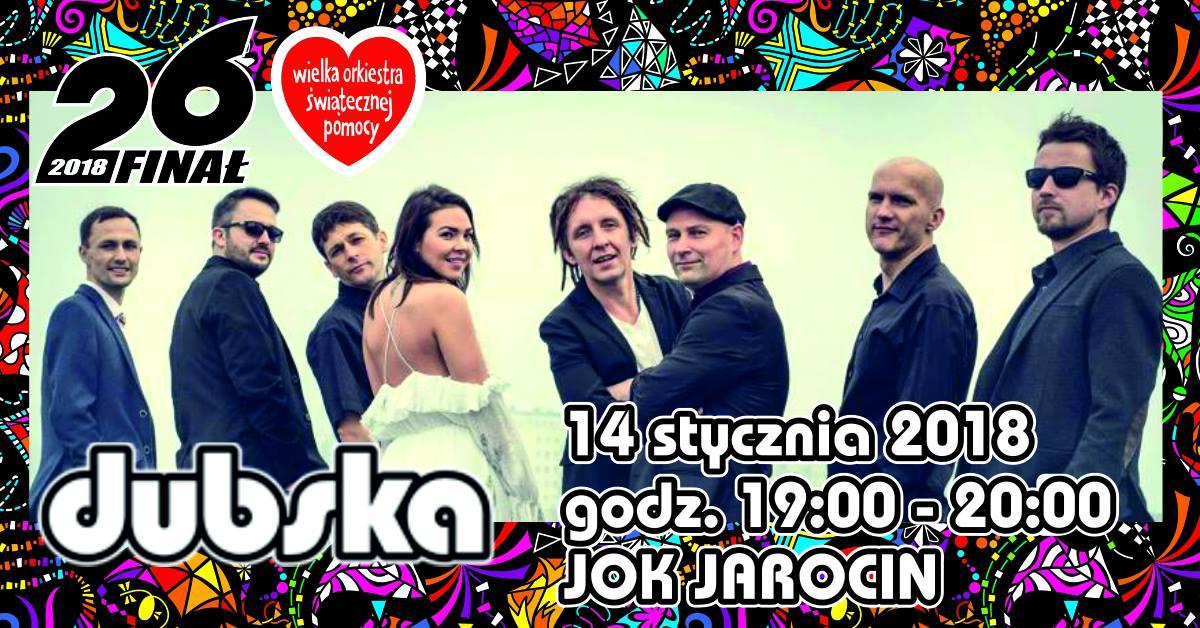 14 stycznia gramy dla WOŚP razem z JOK Jarocin