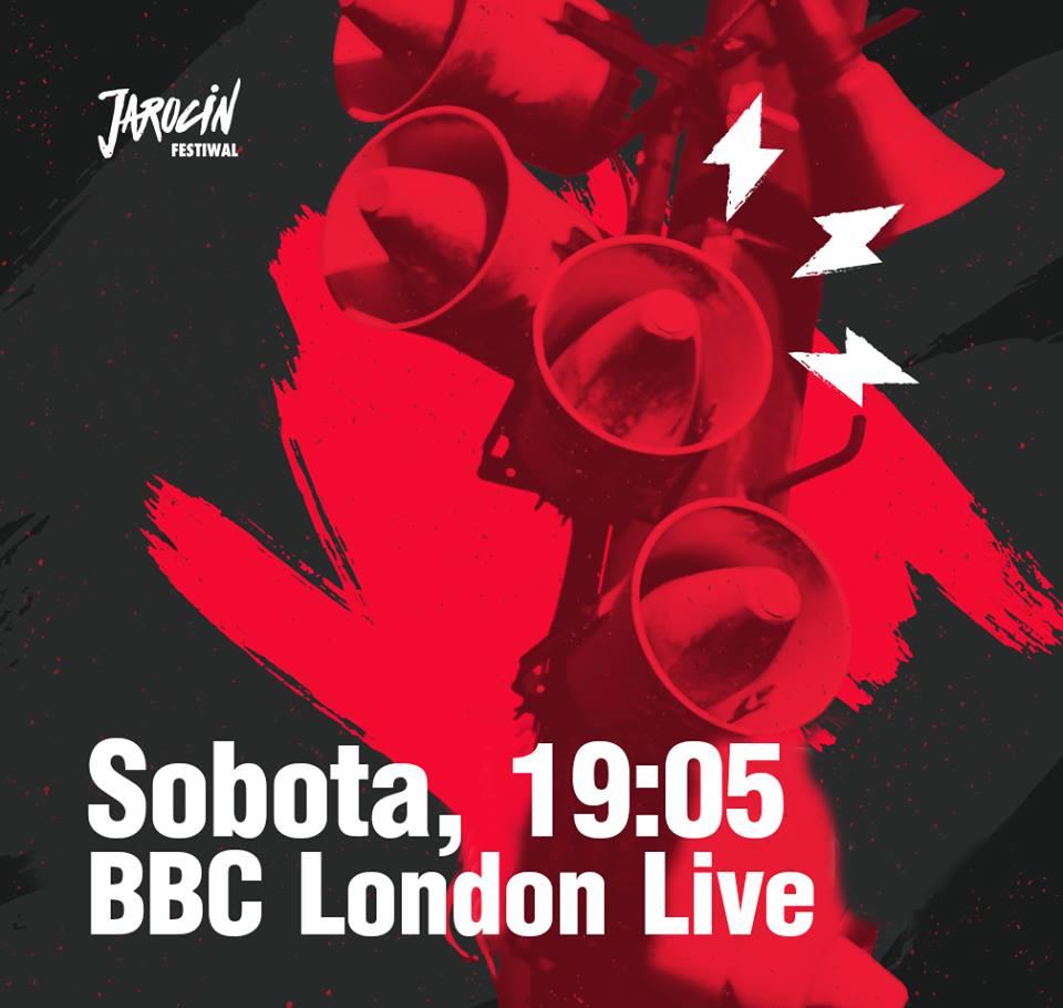 Rozmowy z ambasadorami JF 2018 w BBC London Live. Już dziś (10.02.2018 r.)!