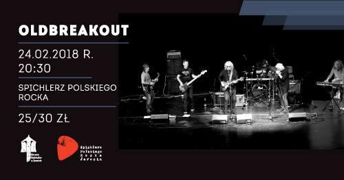 Przypominamy! W najbliższą sobotę (24.02) koncert zespołu OldBreakout