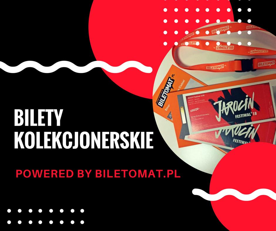 Bilety kolekcjonerskie na Jarocin Festiwal 2018