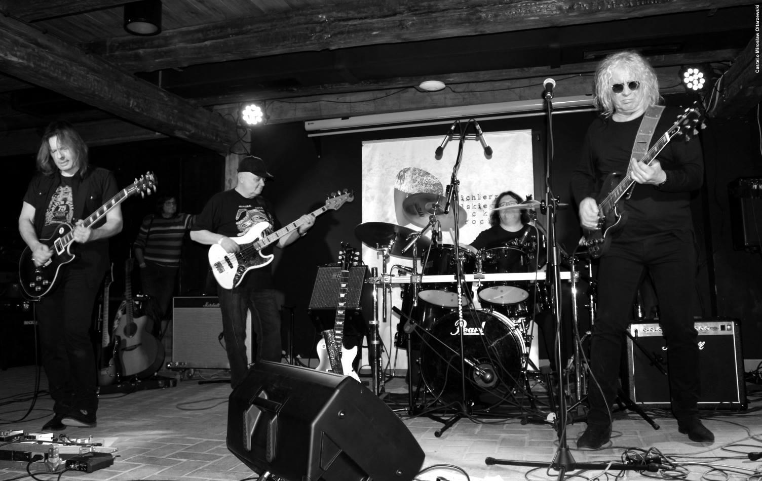 Zespół OldBreakout – fotorelacja z koncertu i spotkania w Muzycznym Bębnie