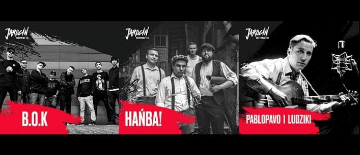 Hańba!, BISZ & B.O.K oraz Pablopavo i Ludziki dołączają do składu Jarocin Festiwal 2018.